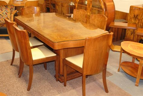 deco dining table and 6 chairs cloud 9 deco