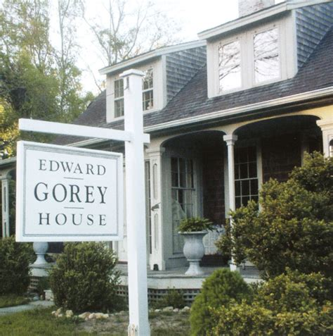 edward gorey house welcome edwardgoreyhouse