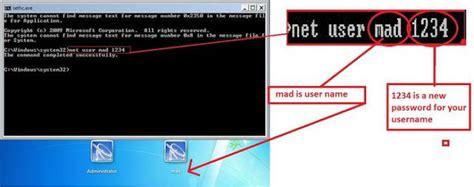 reset windows vista administrator password safe mode windows 7 password reset windows 7 password recovery