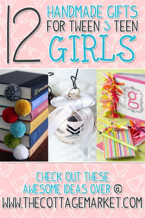 a dozen handmade gifts for tween tween