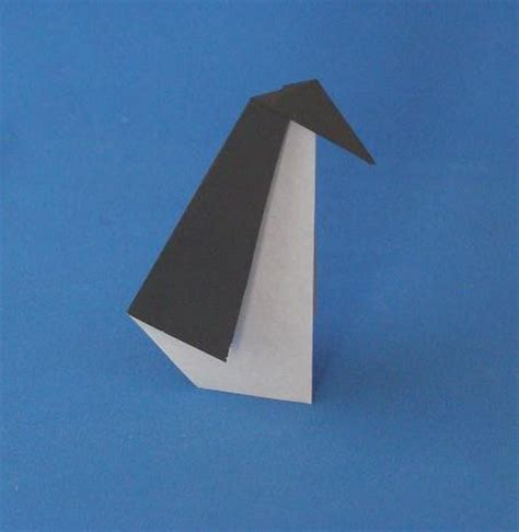 Origami Penguin Easy - egg laying chicken