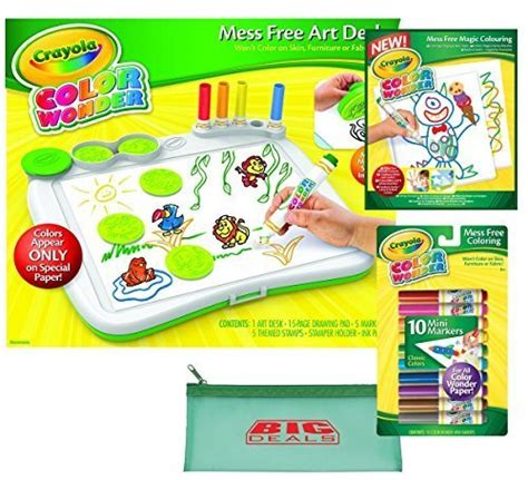 color wonder art desk crayola color wonder mess free art desk with ster with
