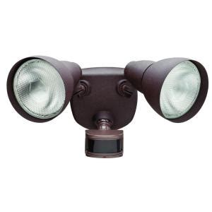 defiant 270 176 rust motion outdoor security light df 5718 rs