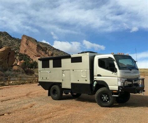 mitsubishi fuso 4x4 expedition vehicle 2012 mitsubishi fuso cantor fg 4x4 ebay motors other