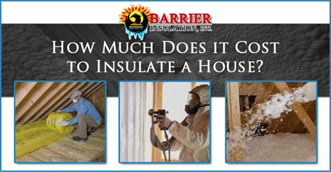 How Much Does It Cost To Do An Mba by How Much Does It Cost To Insulate A House Barrier