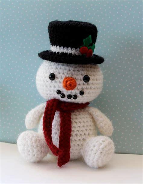 amigurumi snowman pattern free amigurumi crochet pattern snowman