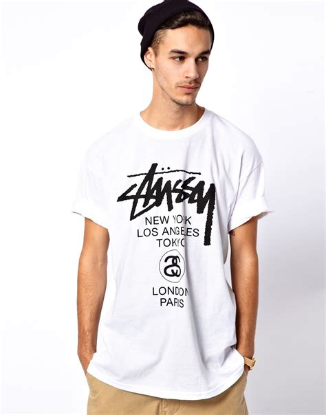 Eyeshield 21 18 Mens T Shirt stussy t shirt in white for lyst