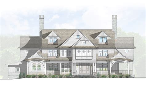 greenwich ct architects custom home shingle style house darien ct 06820