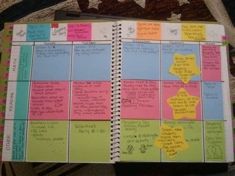 the 7 systems plan books the wise witty post it note lesson plan book