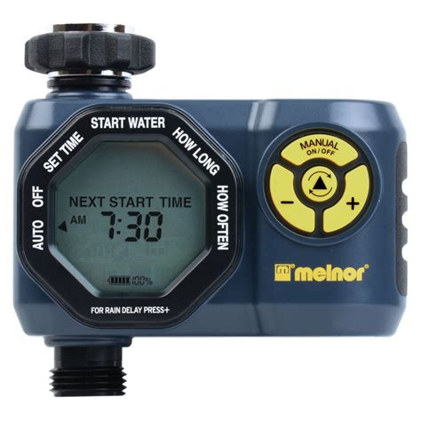 melnor 1 zone digital water timer the home depot canada