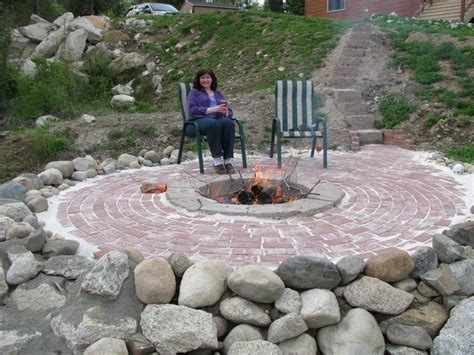 In Ground Firepit Outdoor In Large Ground Pit In Ground Pit Design Ideas Cinder Block Pit