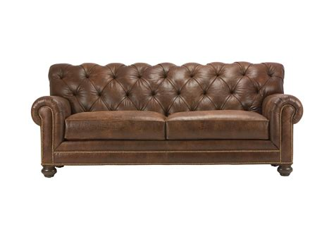 leather sofa chadwick leather sofa sofas loveseats