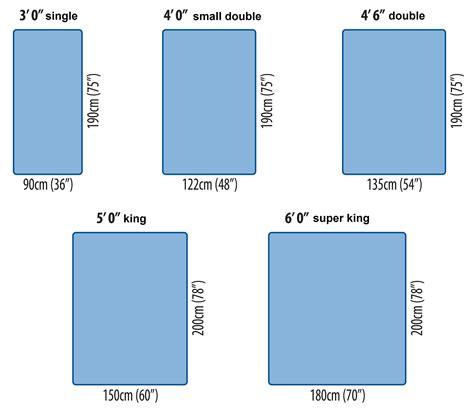 Standard Bed Sizes     hometuitionkajang.com