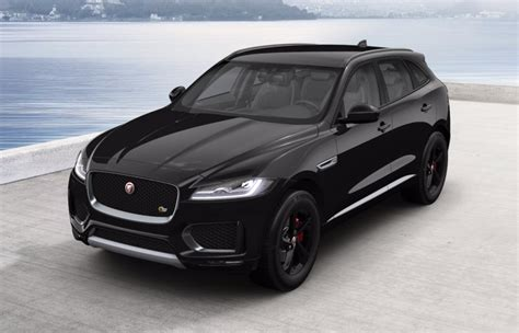 jaguar f pace black jaguar f pace 2017 couleurs colors