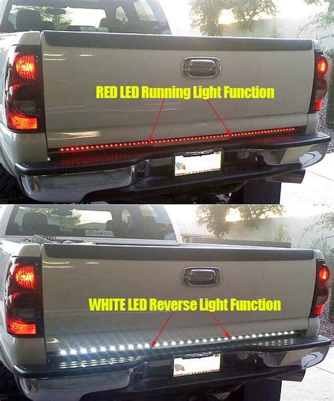 Recon Led Tailgate Light Bar Recon White Lightning Led Tailgate Light Bar