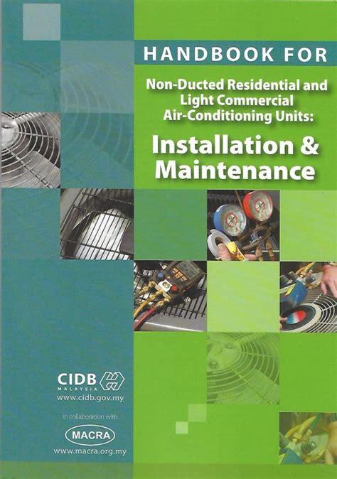 industrial hvac handbook blog penyejukan penyamanan udara