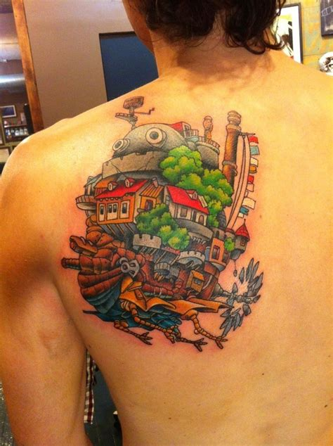 27 studio ghibli tattoos that ll make your heart croon