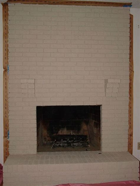 painting your brick fireplace living room