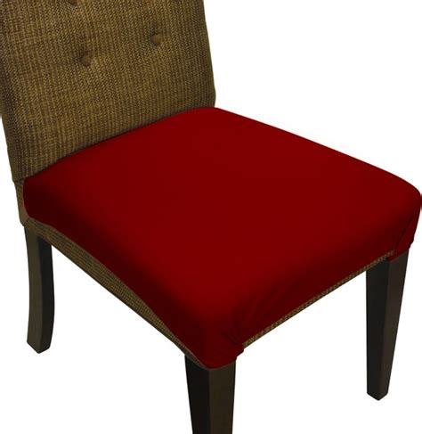 smartseat dining chair seat cover and protector burgundy