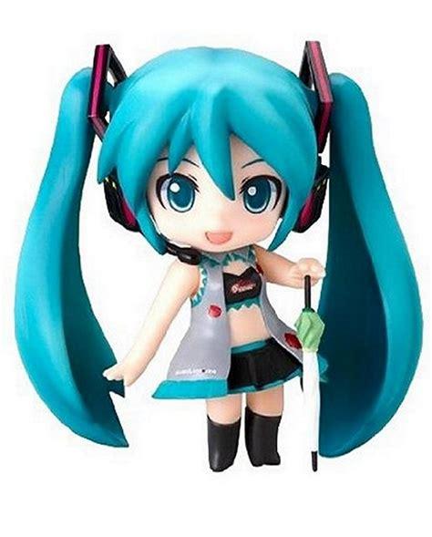 Nendoroid Miku Append Set vocaloid nendoroid petit race figure set black version miku rin luka