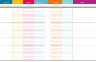 weekly planning template for teachers diy planner binder ms houser