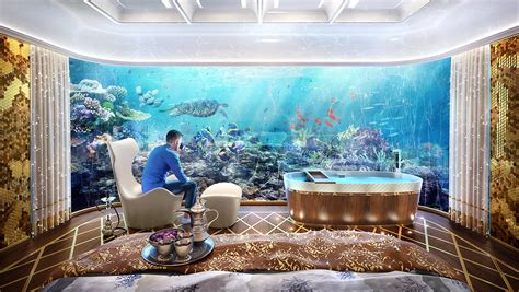 Modern Style Homes Interior by Dubai Seahorse The Floating Seahorse Floating House