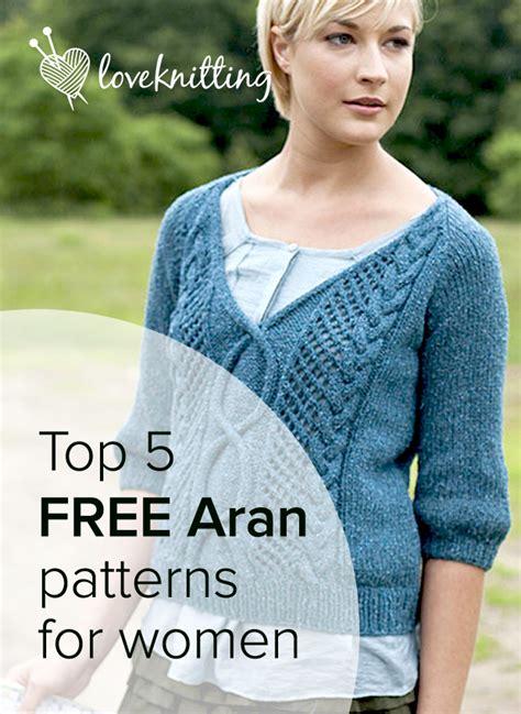 aran sweater knitting patterns free top 5 free aran knits for loveknitting