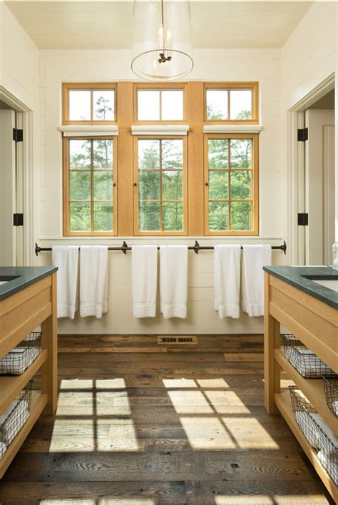 rustic bathroom flooring bunk house with rustic interiors home bunch interior