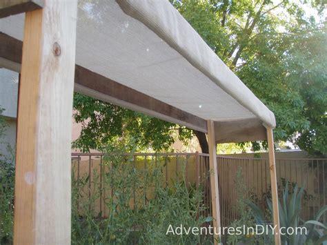 diy shade structure southwest gardening july 2010 update adventures in diy