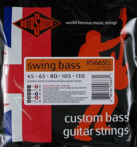 rotosound swing bass 66 rotosound swing bass 5 string scale 045