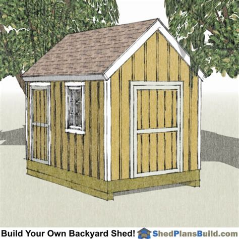How To Build A 8x12 Shed by 12x16 Garden Shed Plans