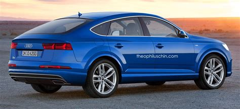 Audi Q6 rendered ? X6, GLE Coupe rival considered Image 306795