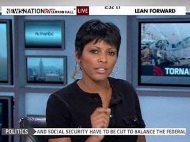 msnbcs tamron hall debuts in new lean forward ad msnbc s lean forward news is it news at all the