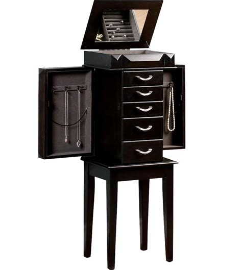 jewelry organizer armoire jewelry storage armoire in jewelry armoires