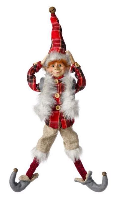 christmas elf sebastian 16 quot raz like santa posable
