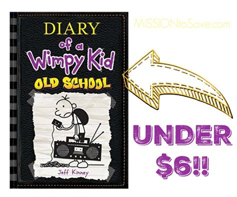School Supply Giveaway 2017 Columbus Ohio - new diary of a wimpy kid old school under 6 with promo code mission to save