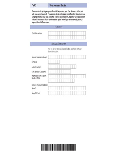 application form for social welfare services fuel