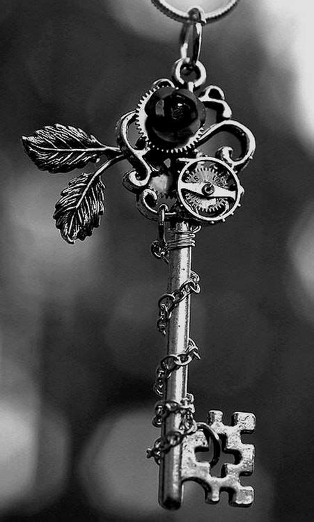 enchanted key to a secret and magical place... | Steampunk