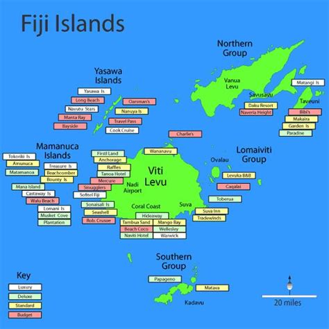 fiji islands map sometimes even the fiji frequenters can track of the whereabouts of the fiji islands so