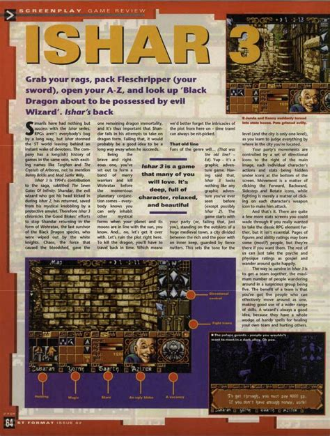 gates of infinity atari st ishar iii the seven gates of infinity scans