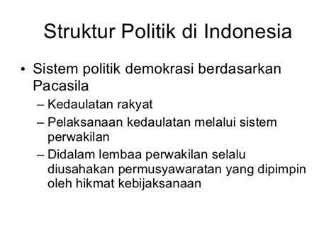 Anatomi Konflik Politik Di Indonesia sistem politik di indonesia