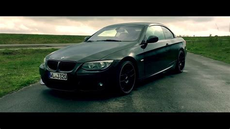 Bmw 3er Cabrio Youtube by Bmw 3er E93 Cabrio Quot Black Edition Quot Dslr Movie M N