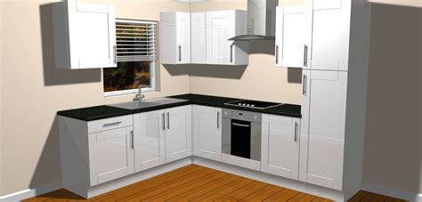 Complete Second Kitchen by New Sorrento White Gloss Complete Fitted Kitchen Units Ebay