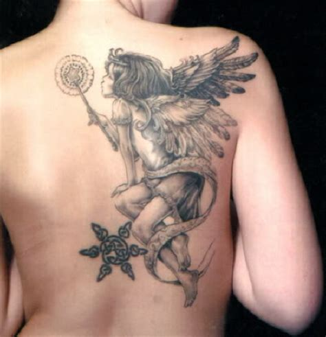 tattoos de angeles black tattoos