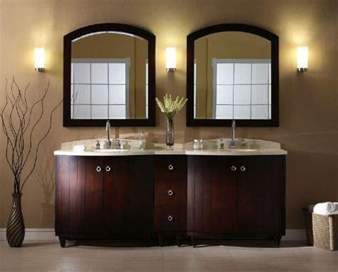 xylem capri 48 inch dark espresso bathroom mirror kara 84 inch dark espresso double sink bathroom vanity