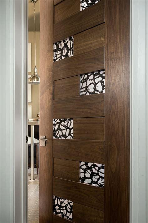 trustile modern door collection tm  walnut