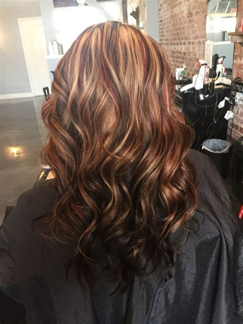 medium brown hair color with highlights and lowlights image result for highlights and lowlights dark brown hair