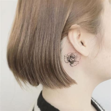 imagenes tatuajes detras de la oreja tatuajes detr 225 s de la oreja encuentra ideas con nuestra