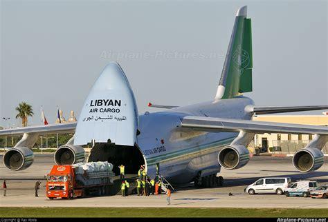 5a dkn libyan air cargo antonov an 124 at malta intl photo id 112859 airplane pictures net
