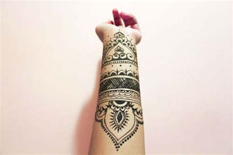 collection of 25 black henna collection of 25 henna wrist